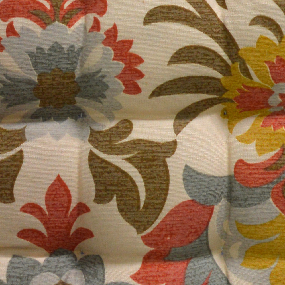 Almofada Para Cadeira Futton Wendy 40x40cm Plantas