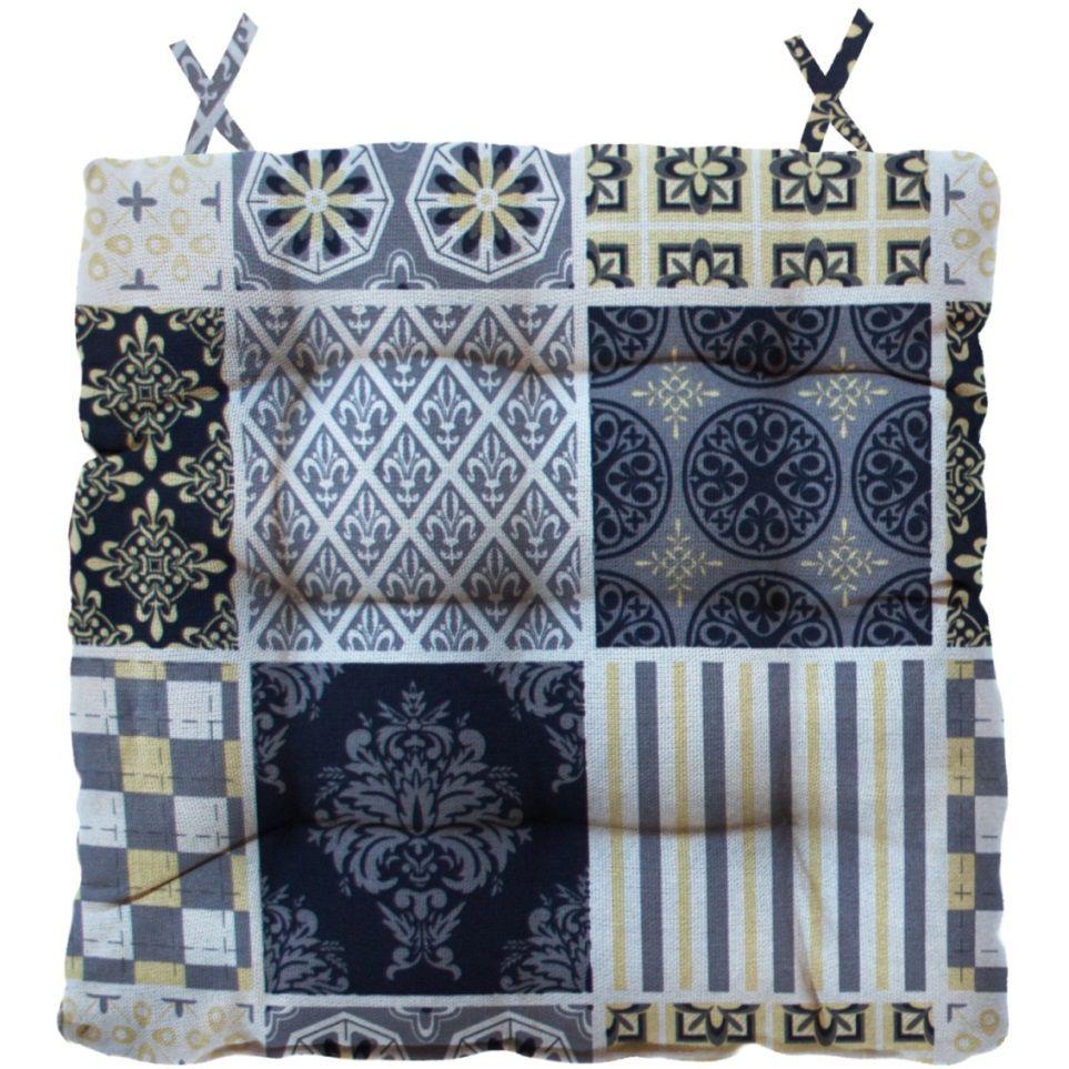 Almofada Para Cadeira Futton Wendy 40x40cm Retalhos