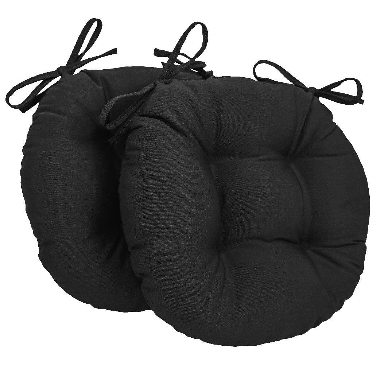 Almofada Para Cadeira Redondo Ø40cm - 2pçs