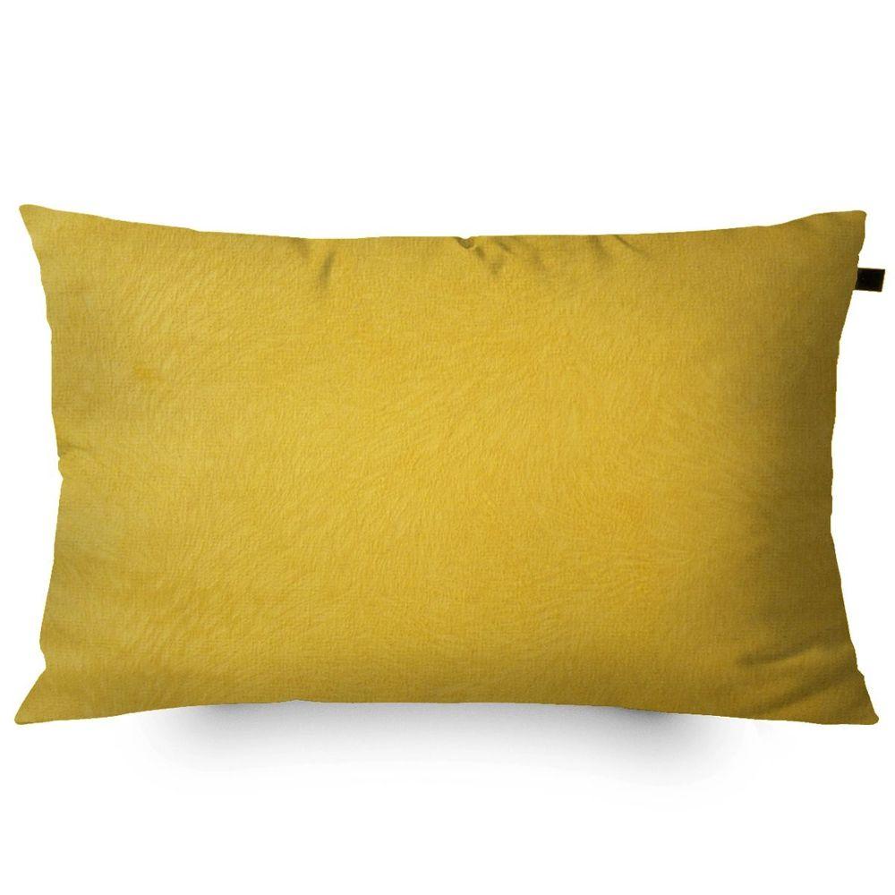 Almofada Retangular Veludo Animalle 30x50cm Ouro