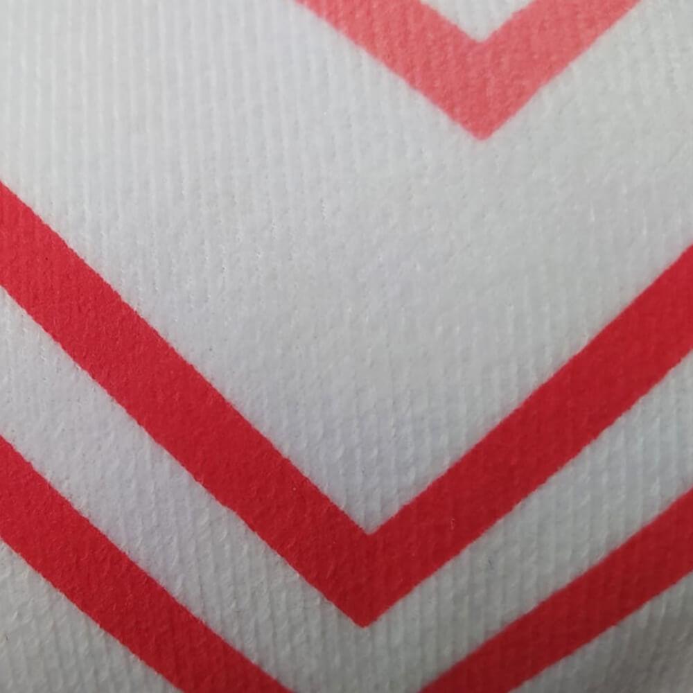 Almofada Veludo Retangular 30x50cm Arad Vermelho