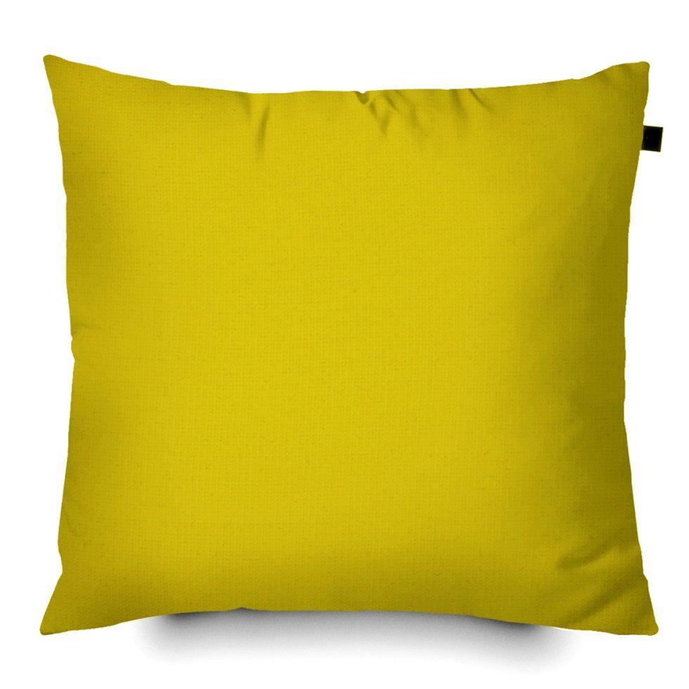 Capa de Almofada Color Lisa 40x40cm - Amarela