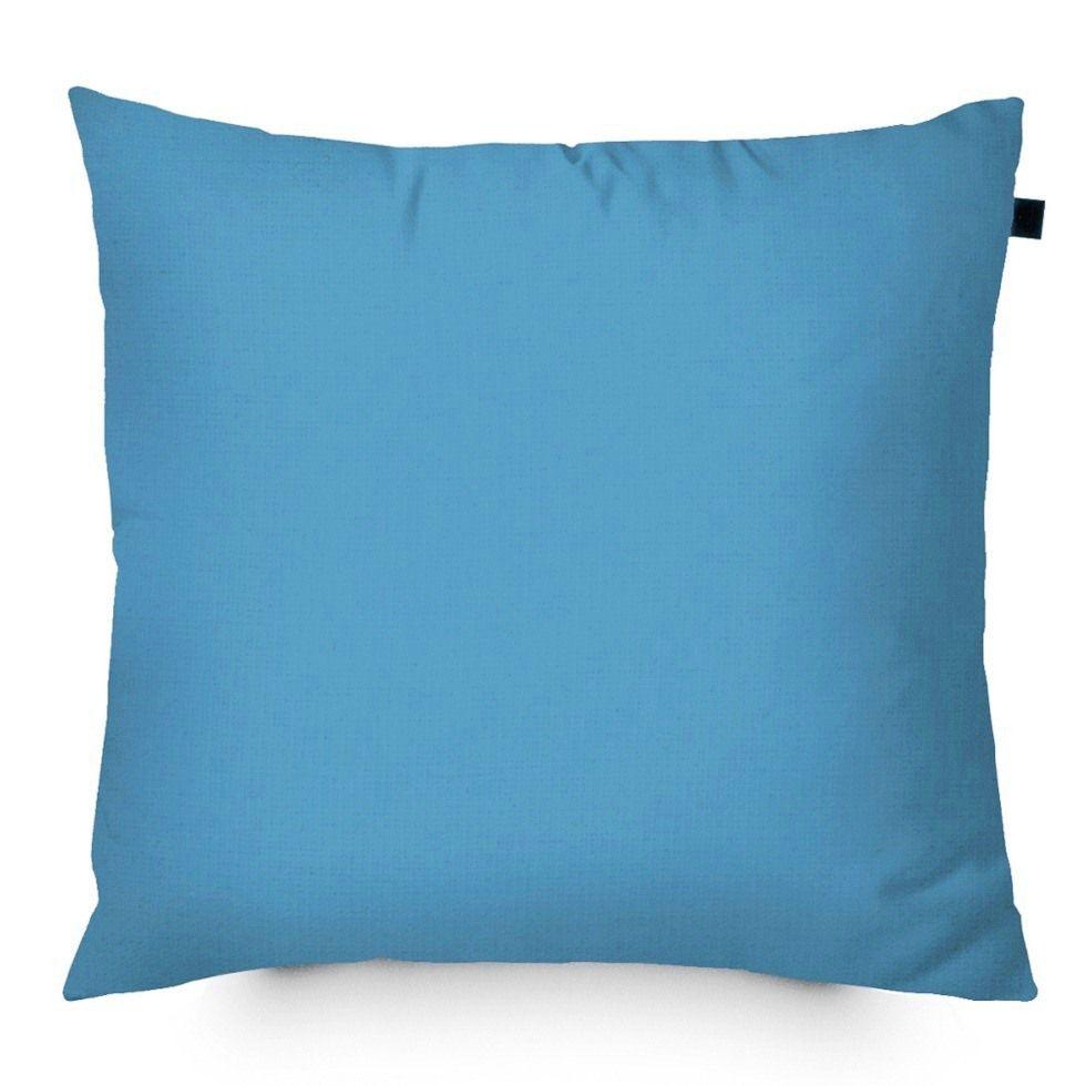 Capa de Almofada Color Lisa 40x40cm - Azul