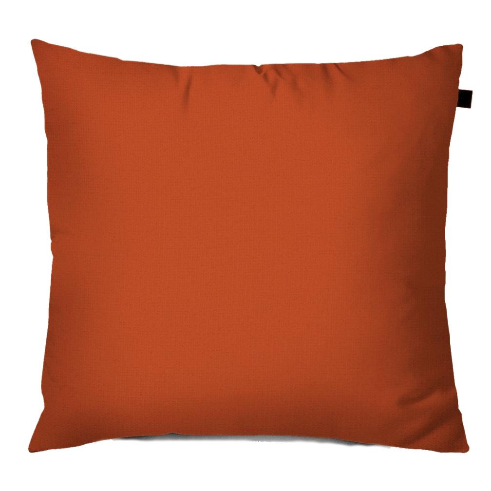 Capa de Almofada Color Lisa 40x40cm - Laranja