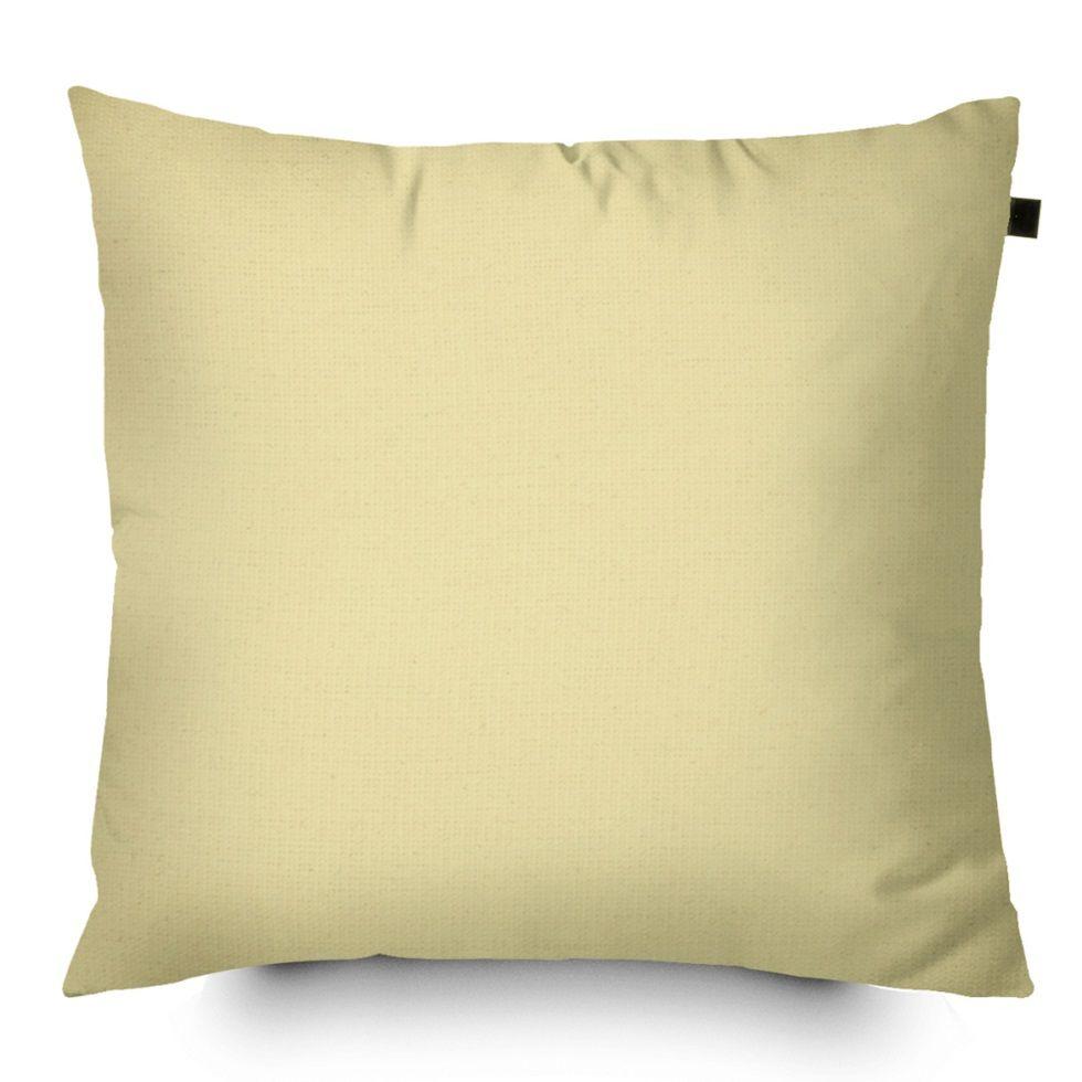 Capa de Almofada Color Lisa 40x40cm - Marfim