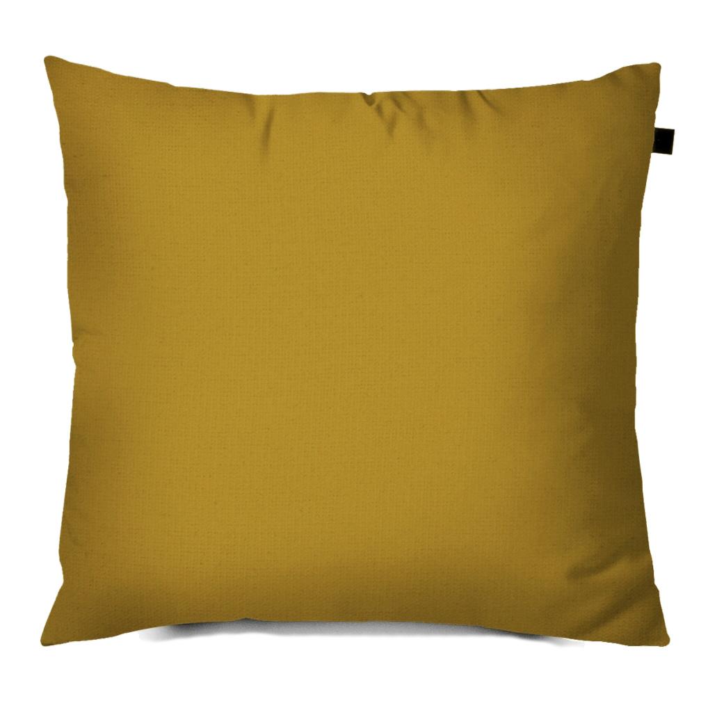 Capa de Almofada Color Lisa 40x40cm - Mostarda