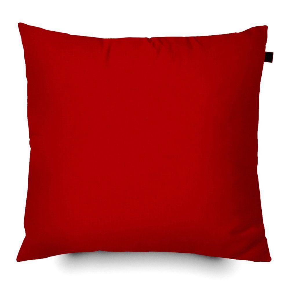 Capa de Almofada Color Lisa 40x40cm - Vermelho