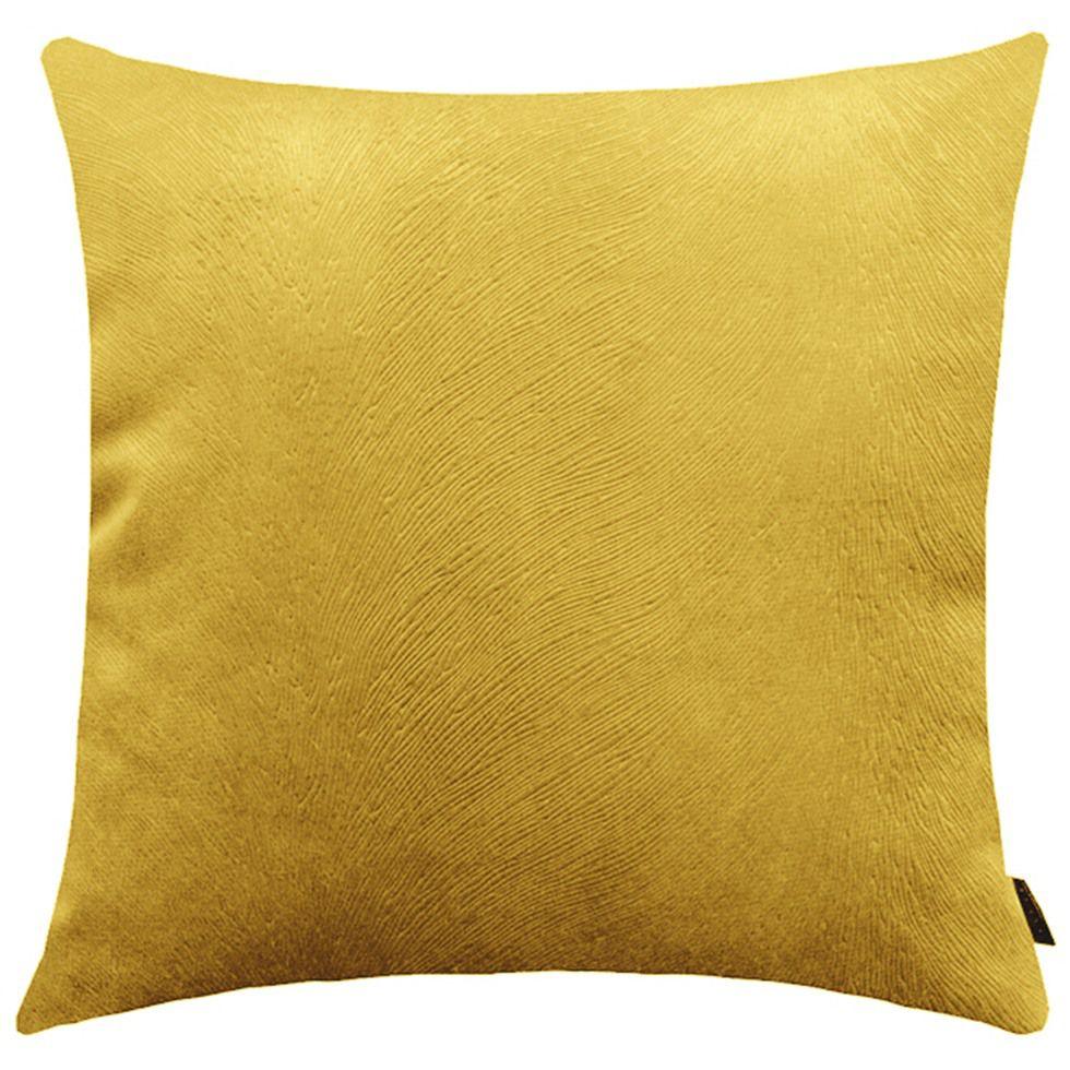 Capa de Almofada Suede Animalle 40x40cm Ouro