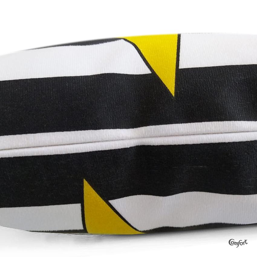Capa de Almofada Suede Estampado 40x40cm Aludra