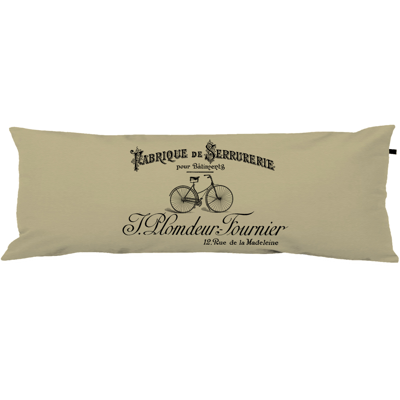Capa Para Travesseiro De Corpo Body Pillow 40x130cm Vintage French 01