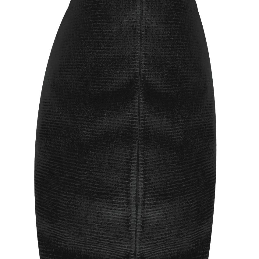 Capa Para Travesseiro De Corpo Body Pillow Veludo 40x130cm Preto