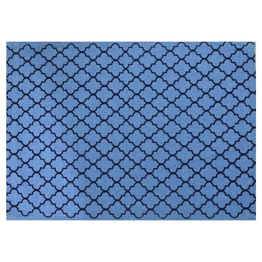 Jogo americano Estampa Azul 33x49cm 4 Peças Azul