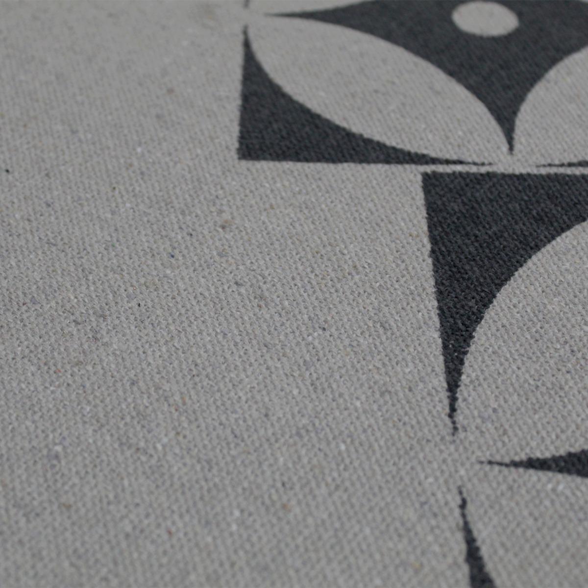 Jogo Tapete Cozinha Areia Algodão Antiderrapante Kit 3 Peças Star