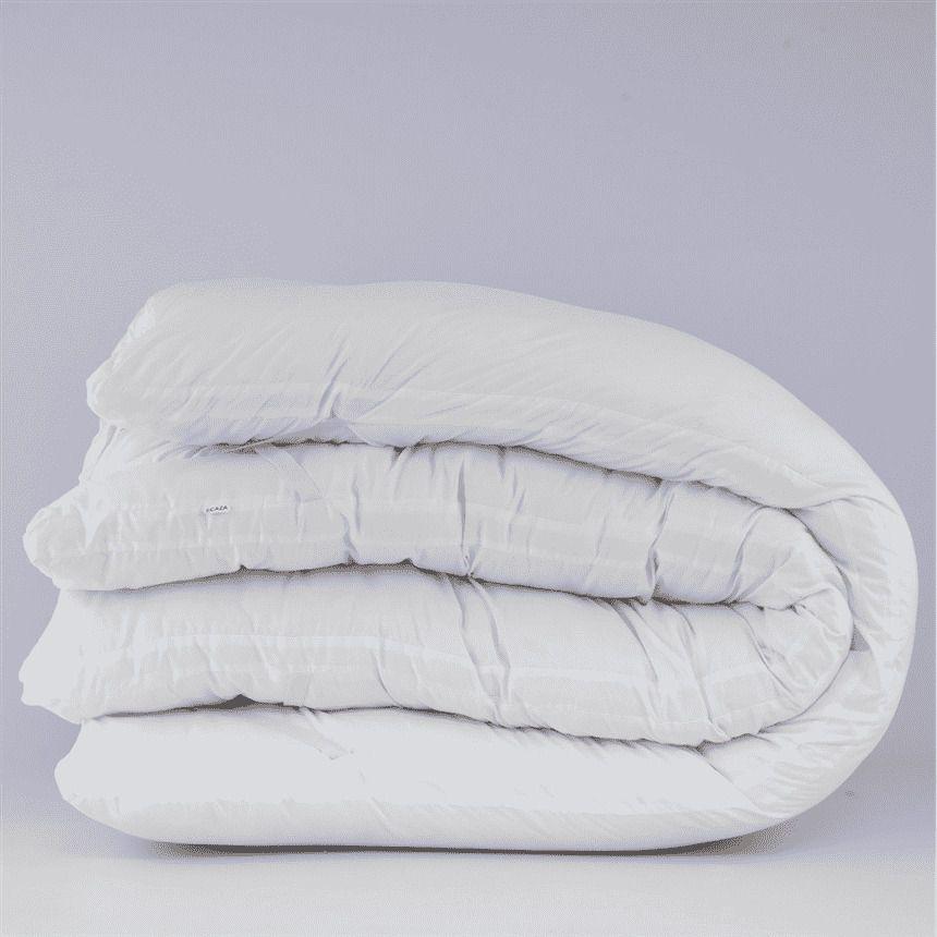 Pillow Top Casal 100% Fibra Siliconada 1600G/M² - Tecido Percal Algodão - Muito mais Conforto