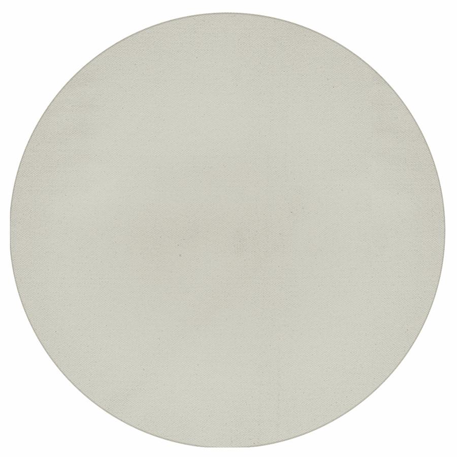 Tapete Boho Redondo Ø140cm Off White - Antiderrapante