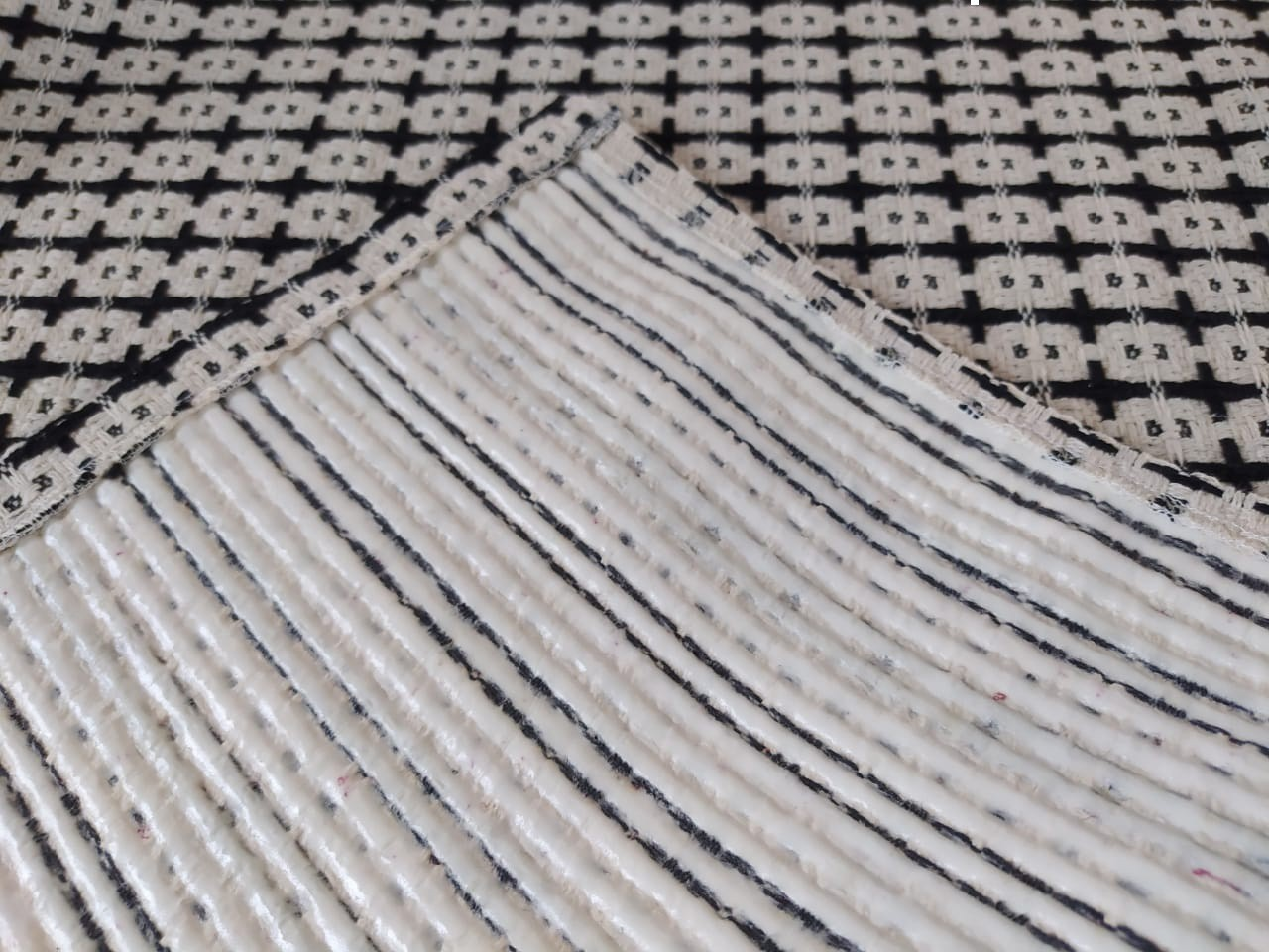 Tapete Passadeira Andaraí 45x140cm Natural - Antiderrapante