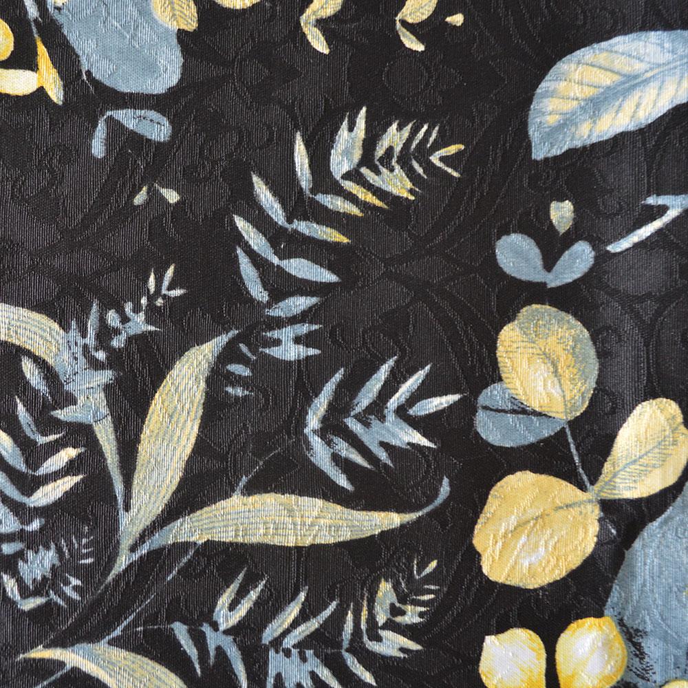 Toalha de Mesa Wendy Plantas Black