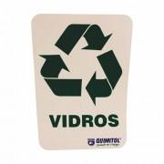 Adesivo para reciclagem