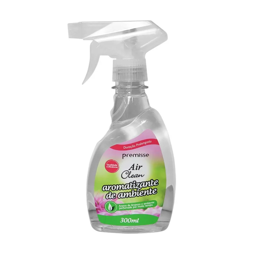 Aromatizante com Gatilho Air Clean 300ml