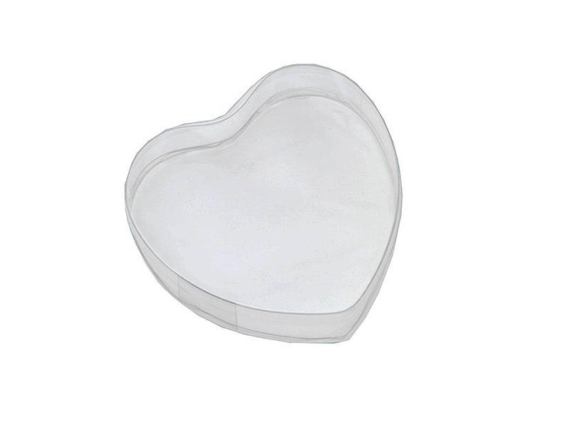Caixa PVC Coração n.º 1 80x90x35mm