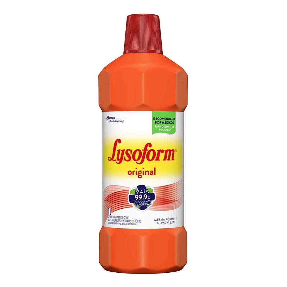 Desinfetante Lysoform Original Bruto 1 Litro
