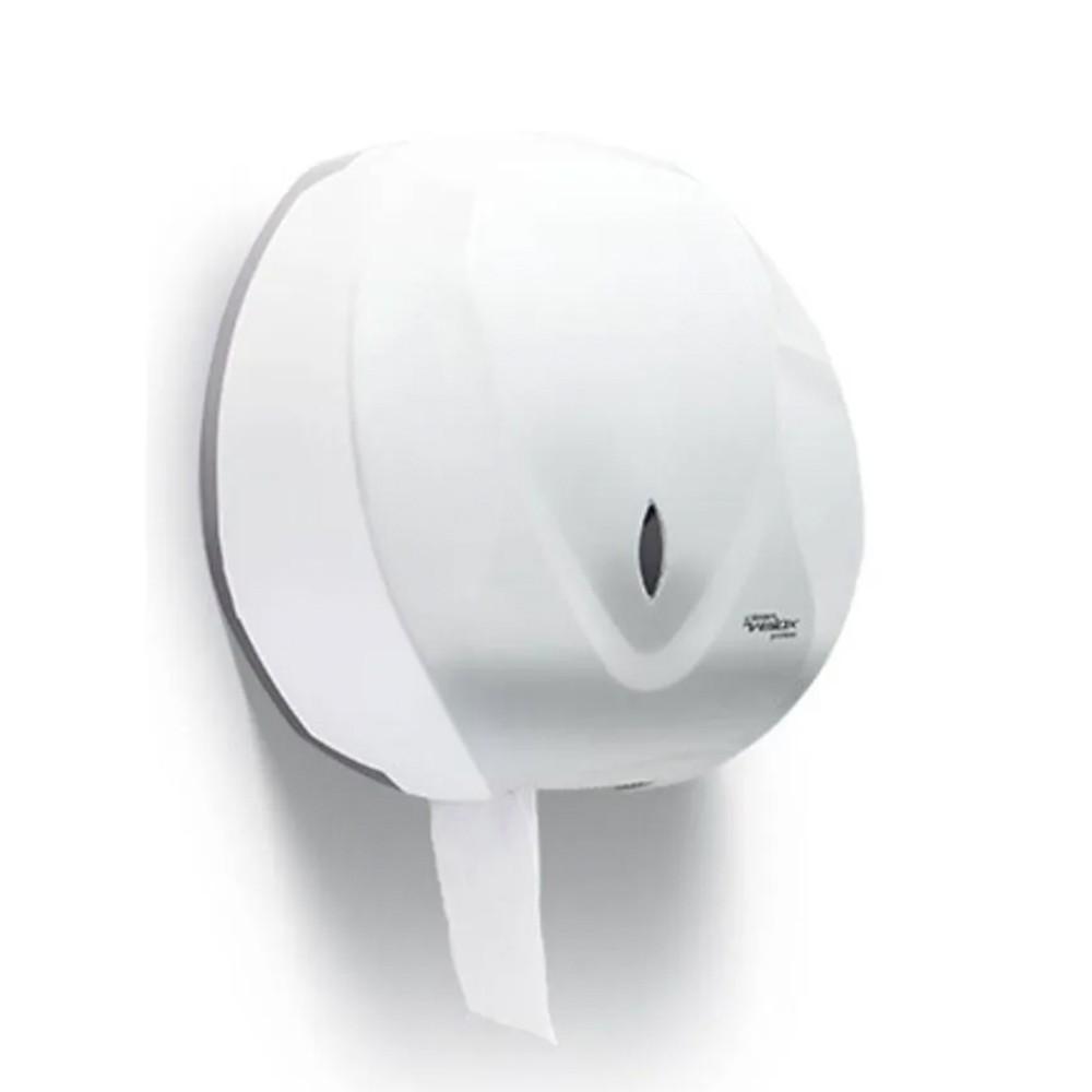 Dispenser Papel Higiênico Rolão Branco Velox - Premisse