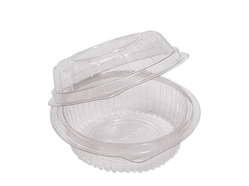 Embalagem pote redondo articulado (BP640) com 10 unidades
