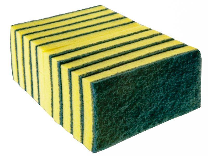 Esponjão Dupla Face Abrasivo Com 10 Unidades - Bettanin