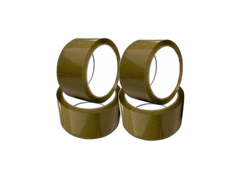 Fita PVC marrom 48mmx45m