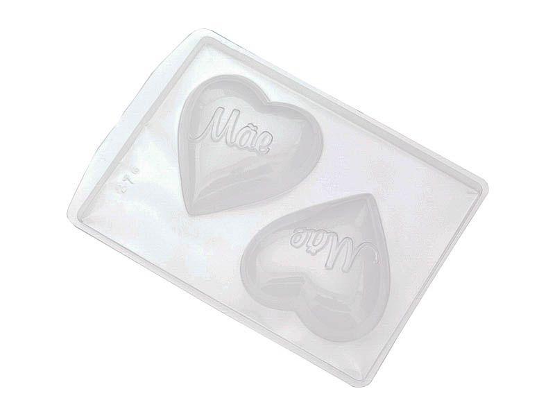 Forma de PVC coração mãe