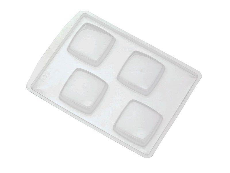 Forma de PVC sabonete quadrado