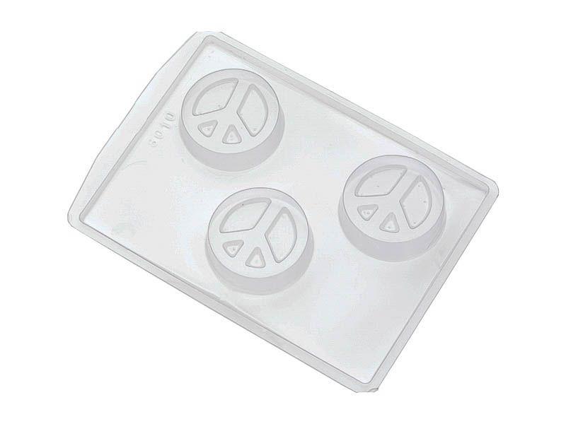 Forma de PVC símbolo paz