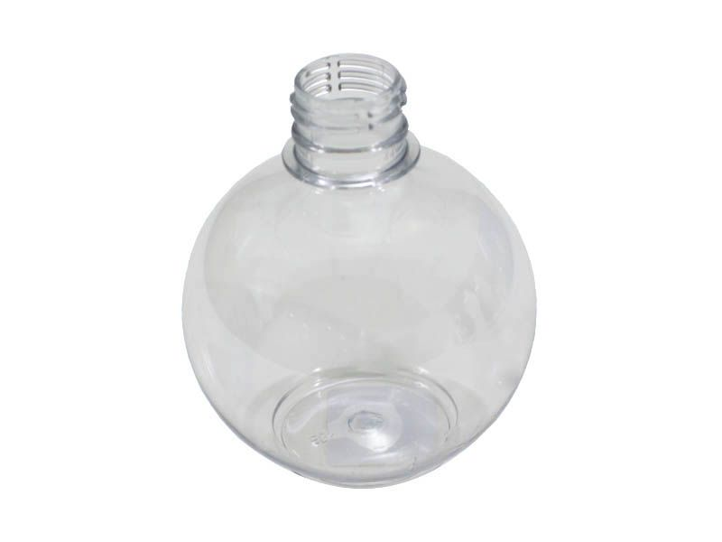 Frasco pet bola transparente sem tampa R28/415/300ml