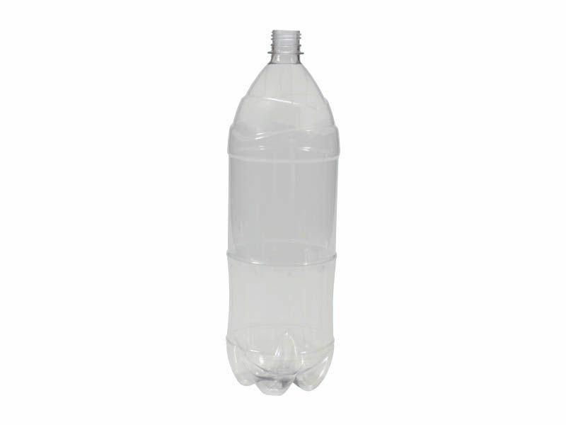 Frasco pet garrafa transparente sem tampa R28/ 2 litros