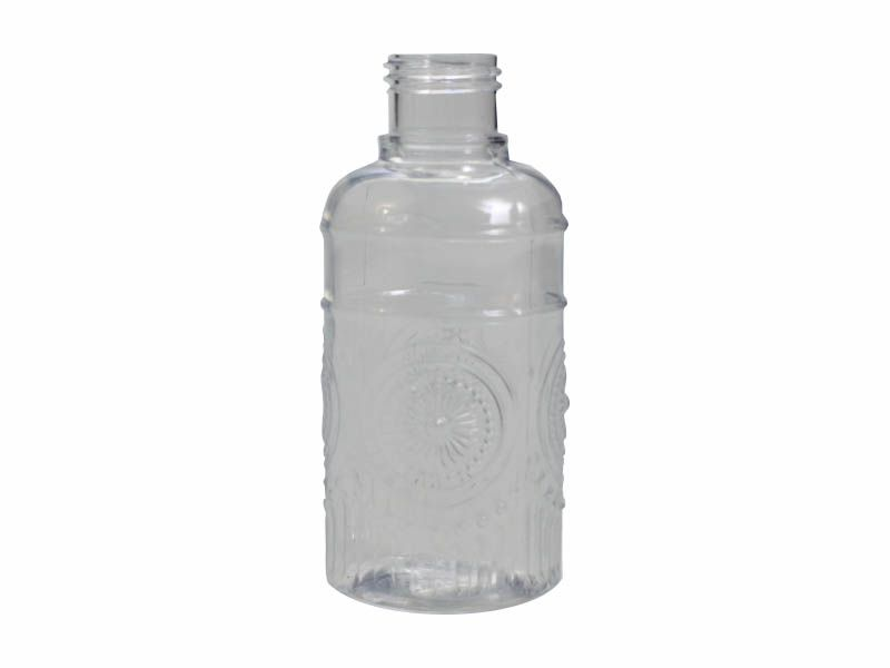 Frasco pet mandala transparente sem tampa R28/410/210ml