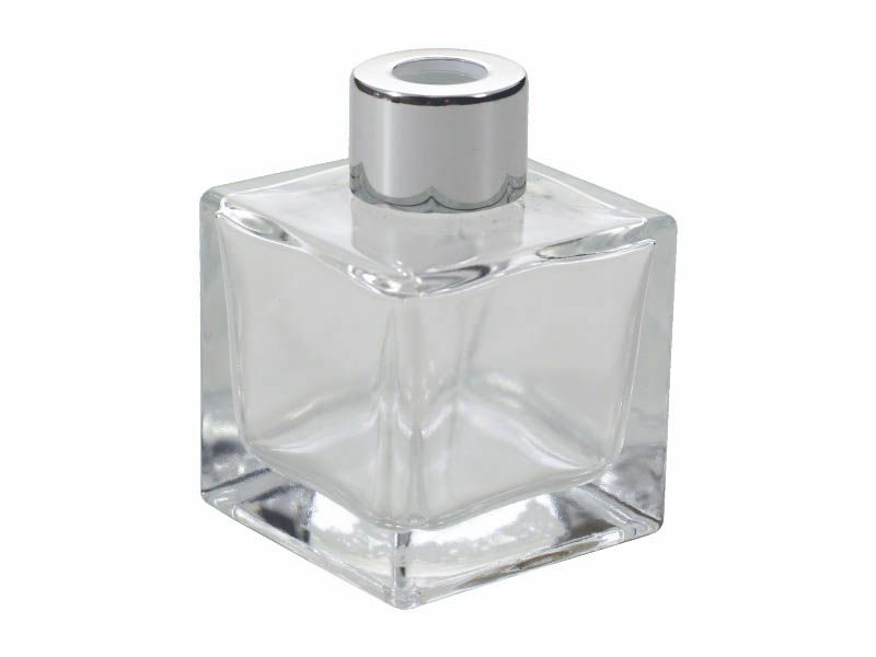 Frasco vidro cube com tampa R20/410/50ml
