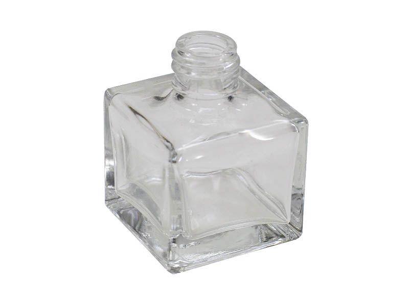 Frasco vidro cube sem tampa R18/410/30ml