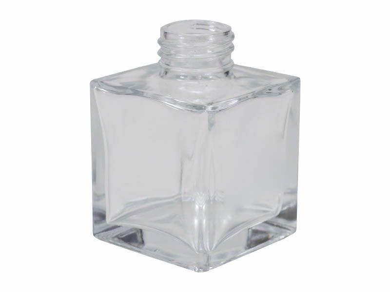 Frasco vidro cube sem tampa R28/410/100ml