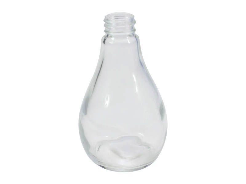 Frasco vidro pear sem tampa R28/410/250ml