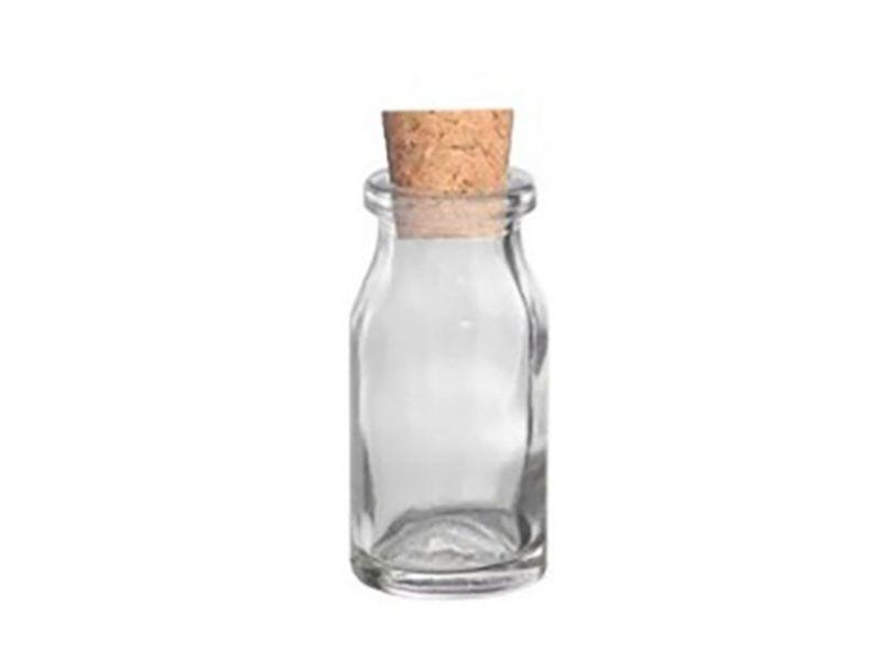 Frasco vidro penicilina com rolha 13ml