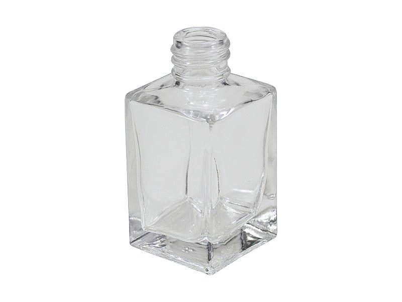 Frasco vidro retangular sem tampa R18/415/30ml