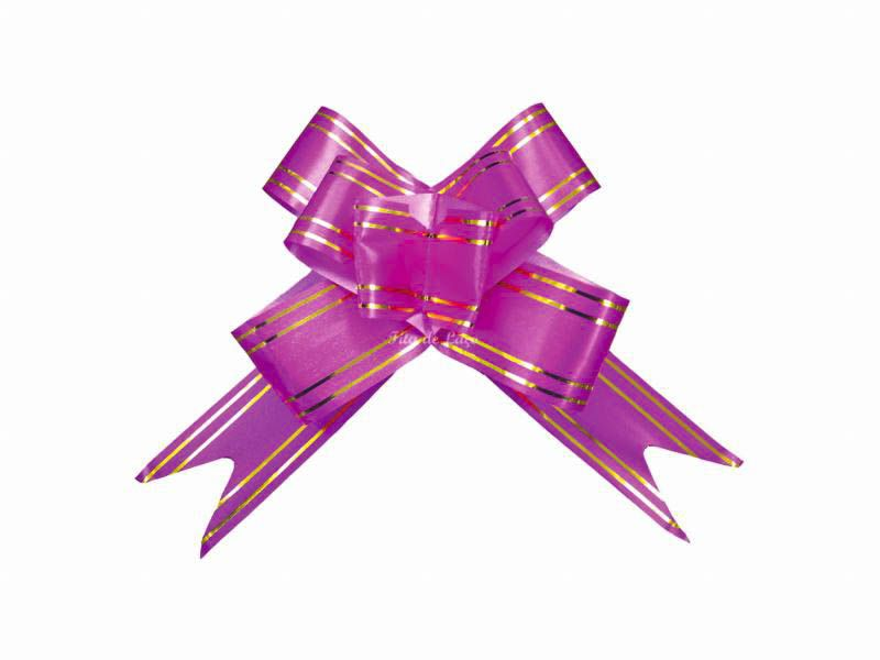 Laço mágico pink 12mm com 10 unidades