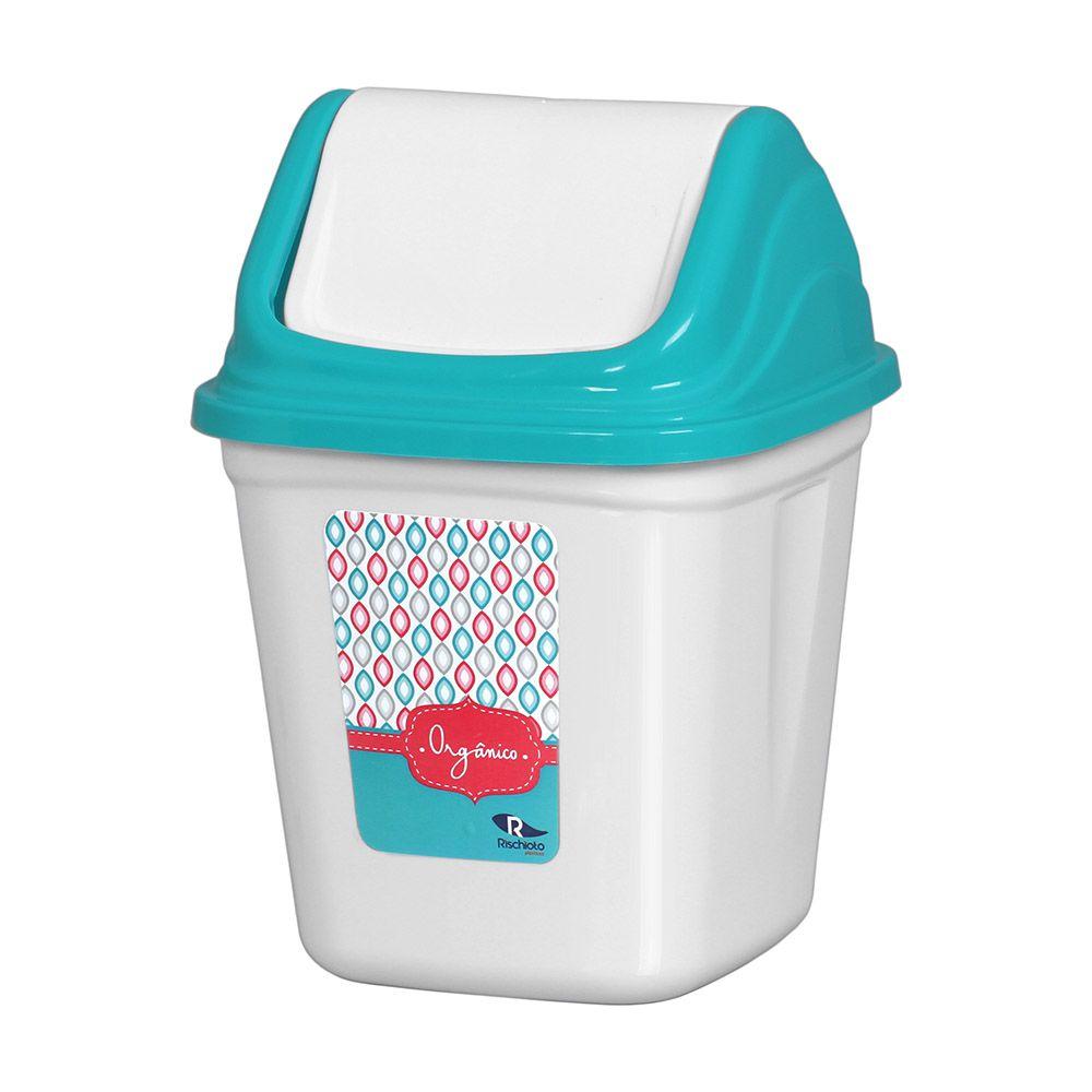 Lixeira com tampa basculante 3,6 litros