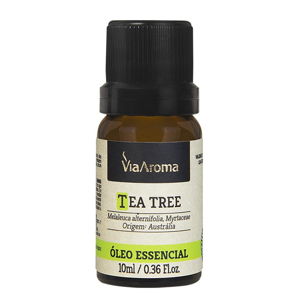 Óleo Essencial Tea Tree Melaleuca 10ml