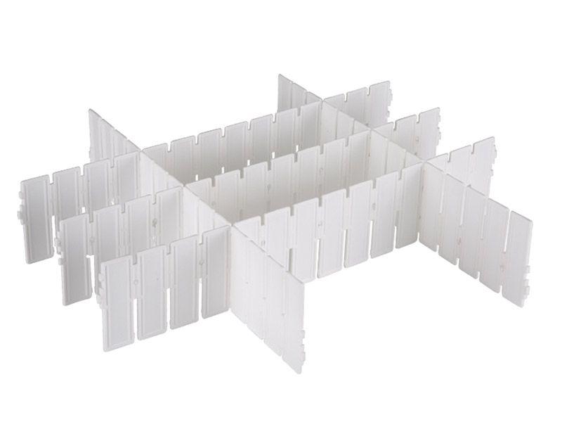 Organizador de gavetas com 5 divisórias