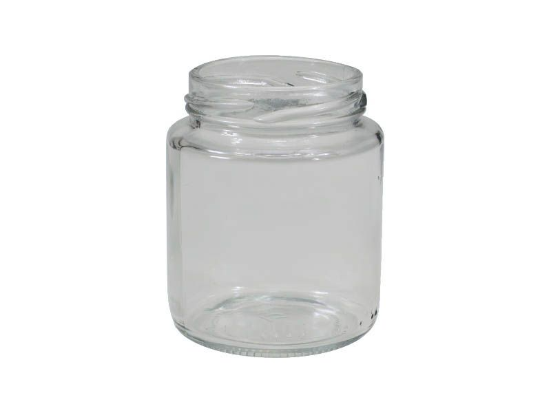 Pote de vidro redondo belem sem tampa 240ml/63mm