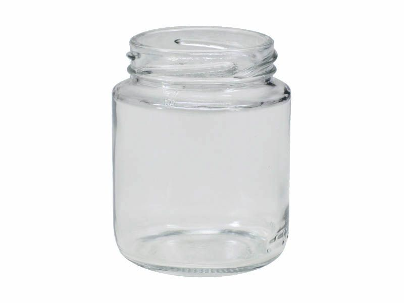 Pote de vidro redondo mini belem sem tampa 150ml/63mm