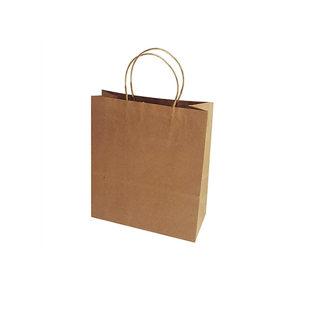 Sacola Para Presente Papel Kraft 21,5x15x8cm