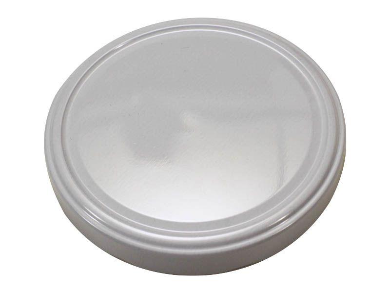 Tampa Branca Para Vidro de Conserva 110mm