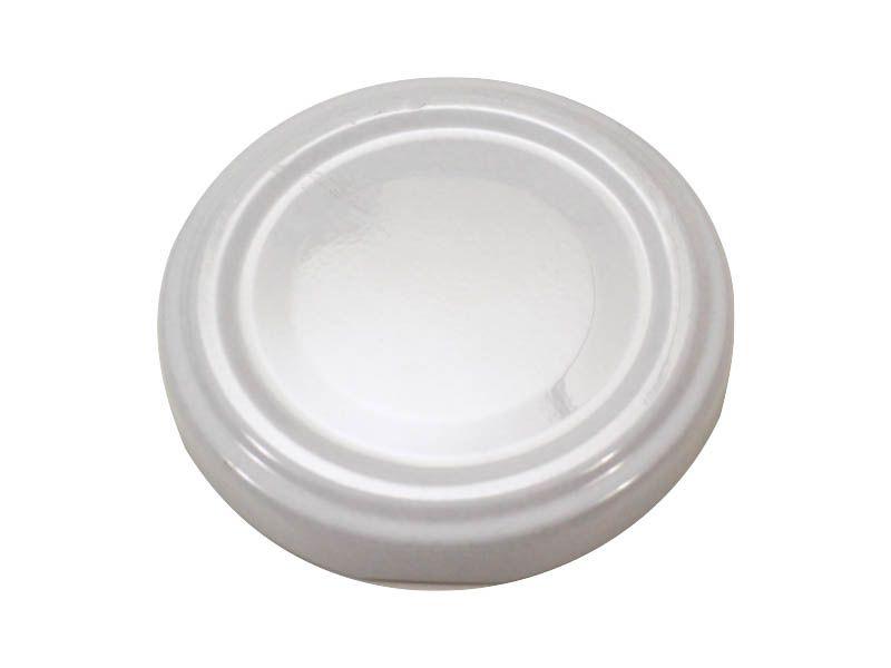 Tampa branca para vidro de conserva 74mm